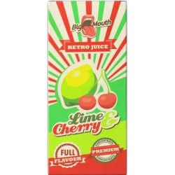 Big Mouth Retro Juice: Lime & Cherry