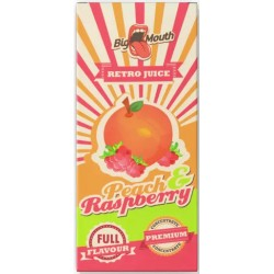 Big Mouth Retro Juice: Peach & Raspberry